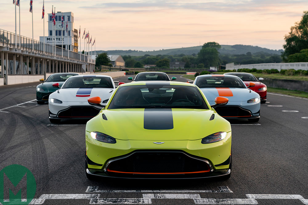Aston Martin unveil six Vantage Racing Heritage Editions at 2019 Goodwood Festival of Speed