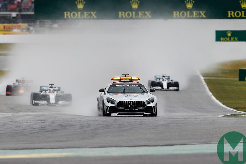 Safety car start 2019 German GP