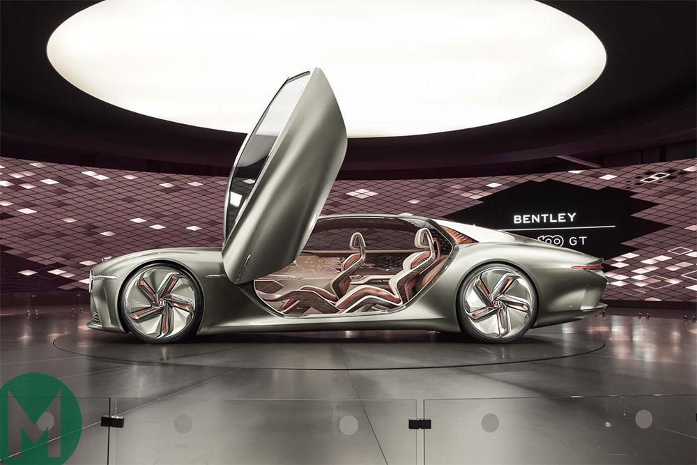 Bentley's EXP 100 GT concept grand tourer