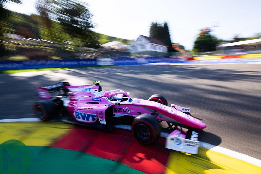 Anthoine Hubert during the 2019 Belgian Grand Prix weekend