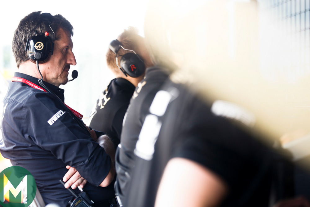 Haas team principal Guenther Steiner at the 2019 Hungarian Grand Prix