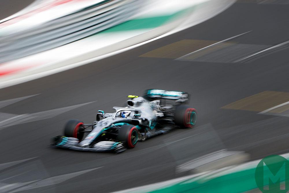 Valtteri Bottas led the Mercedes charge on Saturday