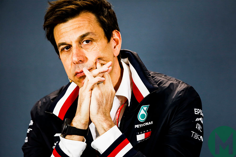 Toto Wolff deep in thought