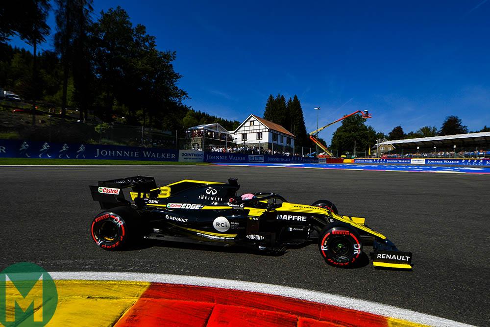 Daniel Ricciardo at La Source during the 2019 Belgian Grand Prix weekend