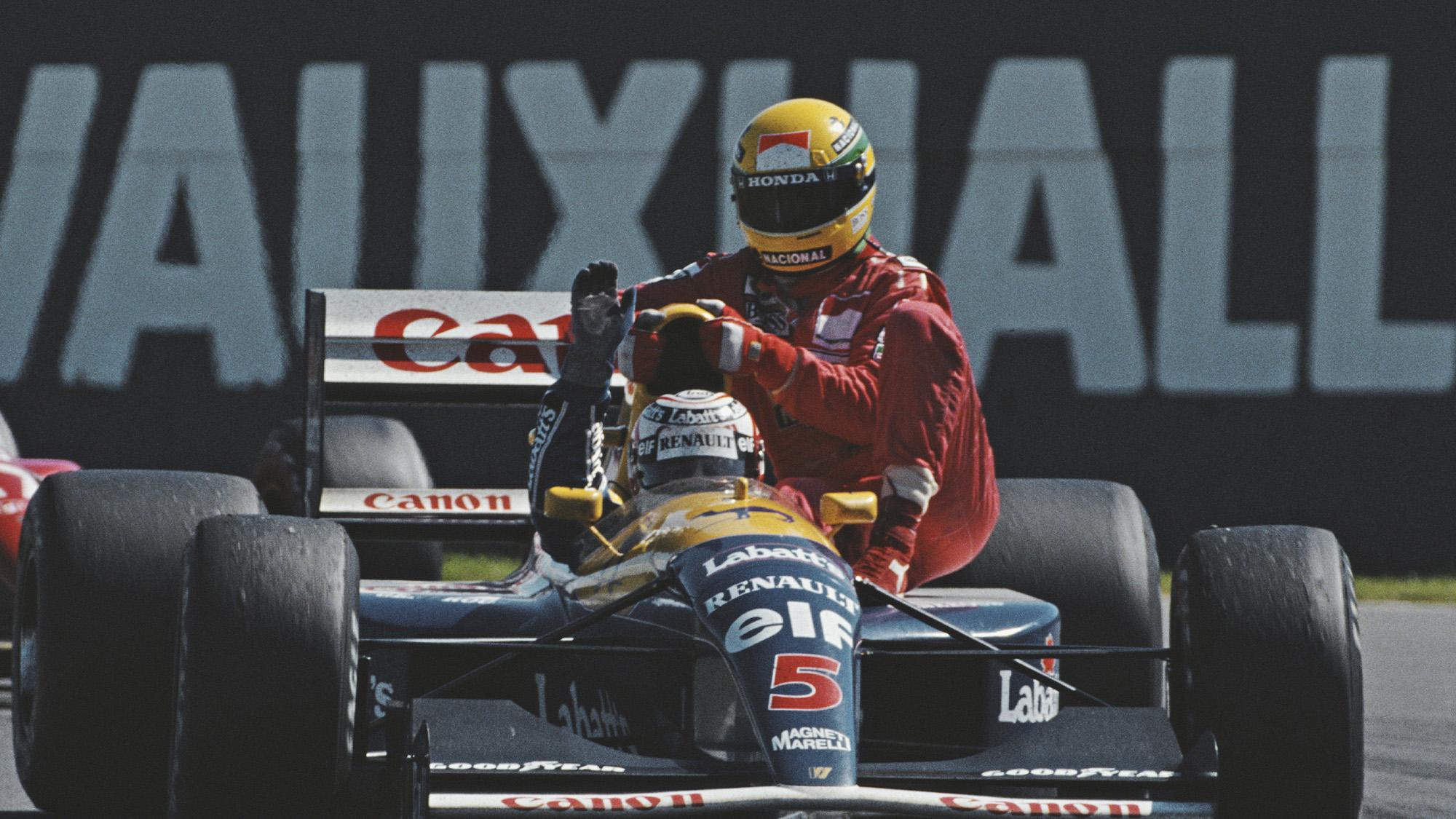 Nigel Mansell's best drives