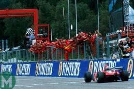 Michael's masterclass: Schumacher's domination of the 2002 Belgian Grand Prix