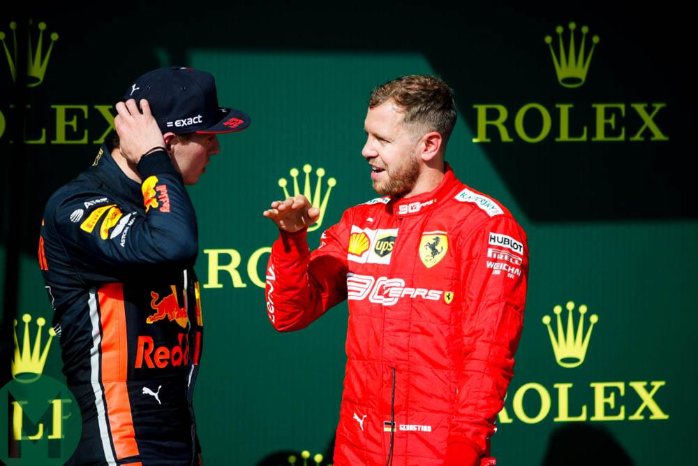 Max Verstappen and Sebastian Vettel discuss the 2019 Hungarian Grand Prix