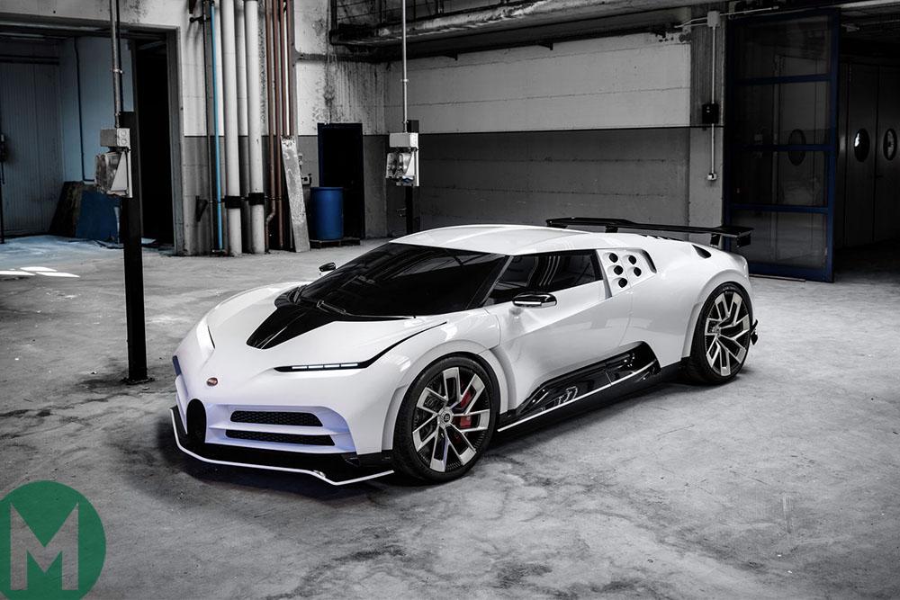 Bugatti Centodieci – the £9million tribute to the EB110
