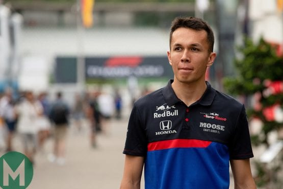 Red Bull drops Pierre Gasly for Alexander Albon