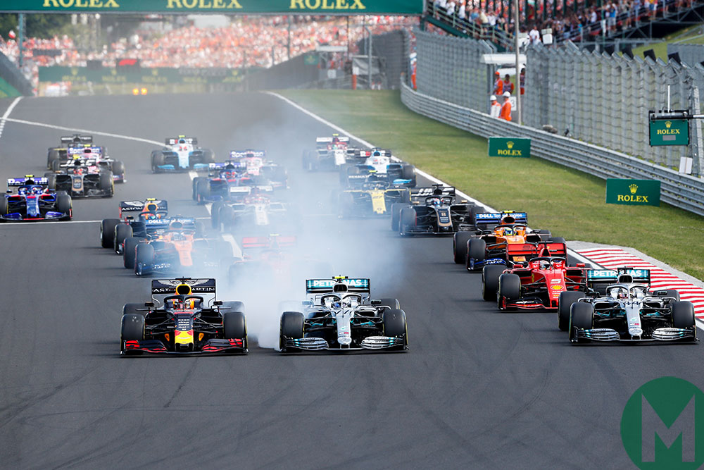 2019 Formula 1 Hungarian Grand Prix — race results