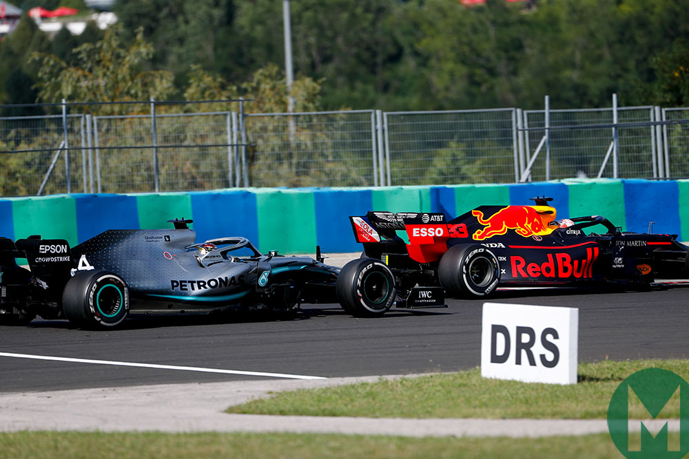 Hamilton's failed mid-race overtake attempt of Verstappen proved crucial to the race outcome