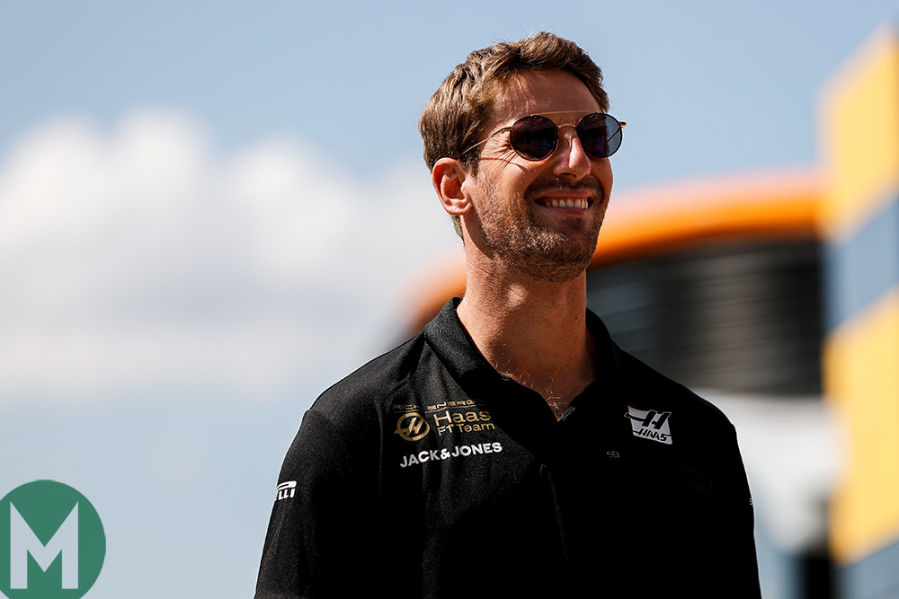Romain Grosjean will remain with Haas for the 2020 Formula 1 season