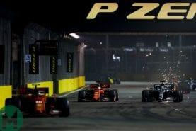 2019 Singapore Grand Prix race results