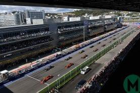 2019 F1 Russian Grand Prix — race results