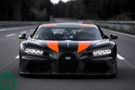 The Bugatti Chiron's 300mph run was brilliant and pointless