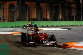 Alonso and Vettel's game for two players: the 2010 Singapore Grand Prix