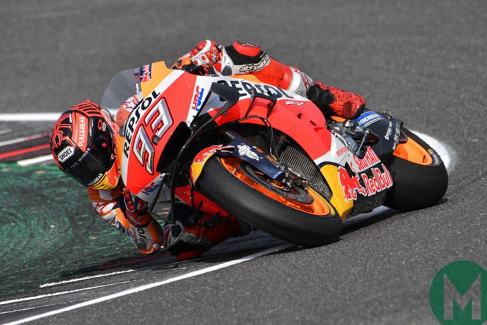 Marc Marquez at the 2019 Aragon MotoGP Grand Prix
