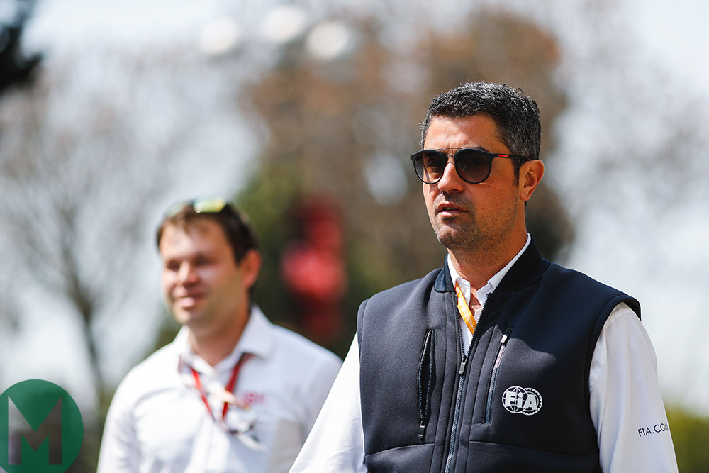 "F1 race director Michael Masi: ""I'll never fill Charlie Whiting's shoes"""