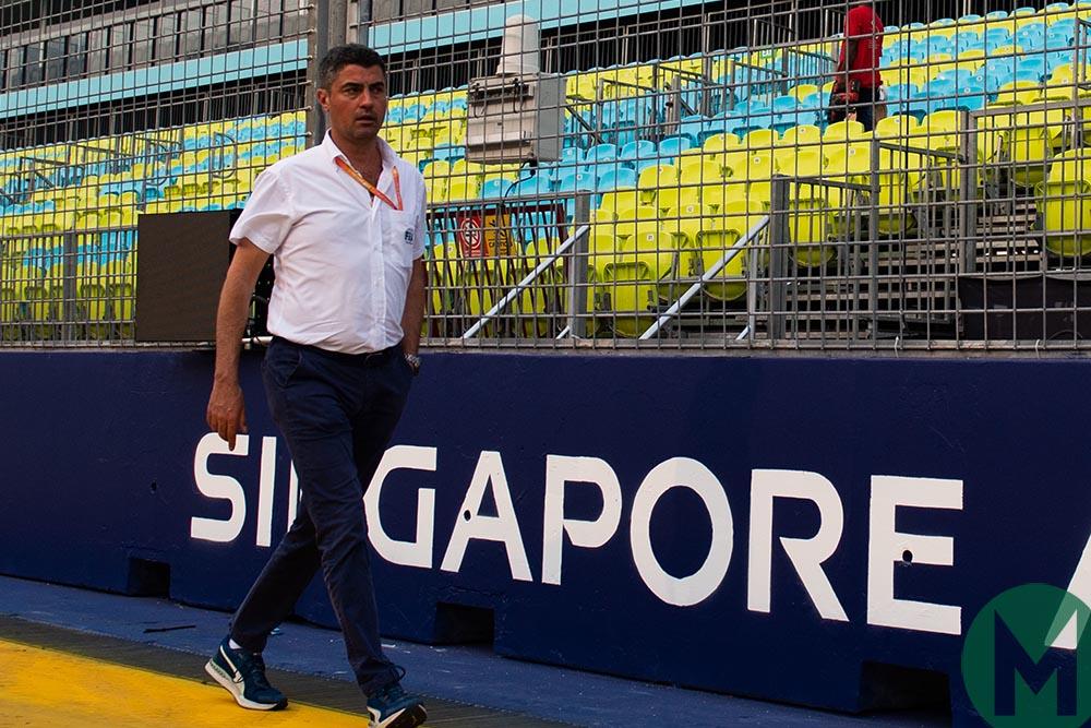 Michael Masi at the 2019 Singapore Grand Prix