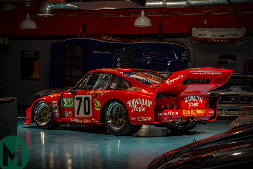 Paul Newman Porsche 935 rear