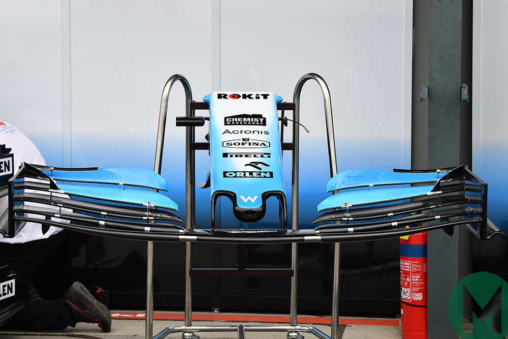 2019 Williams F1 nose