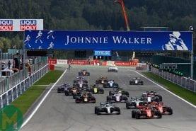 2019 Formula 1 Belgian Grand Prix — race results