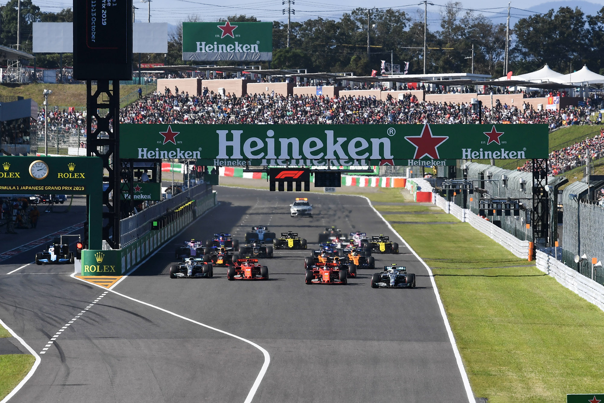 2019 F1 Japanese Grand Prix race results