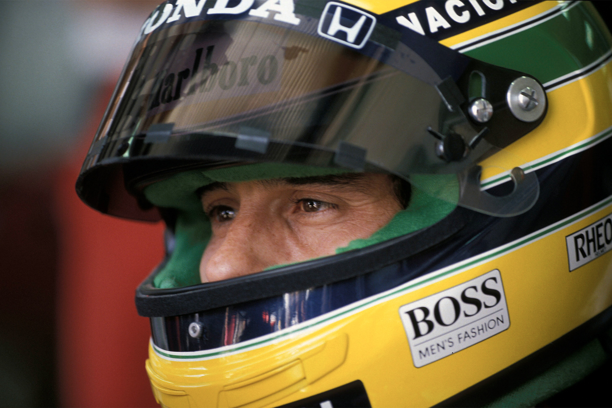 Ayrton Senna during the 1990 Formula 1 season