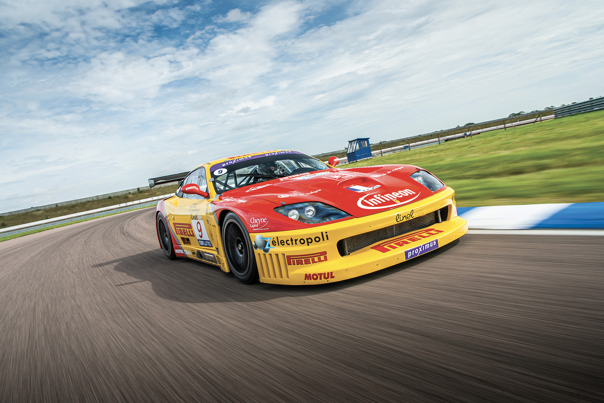 Video: V12 roars again at Rockingham — Ferrari's game-changing 550 Maranello GT1