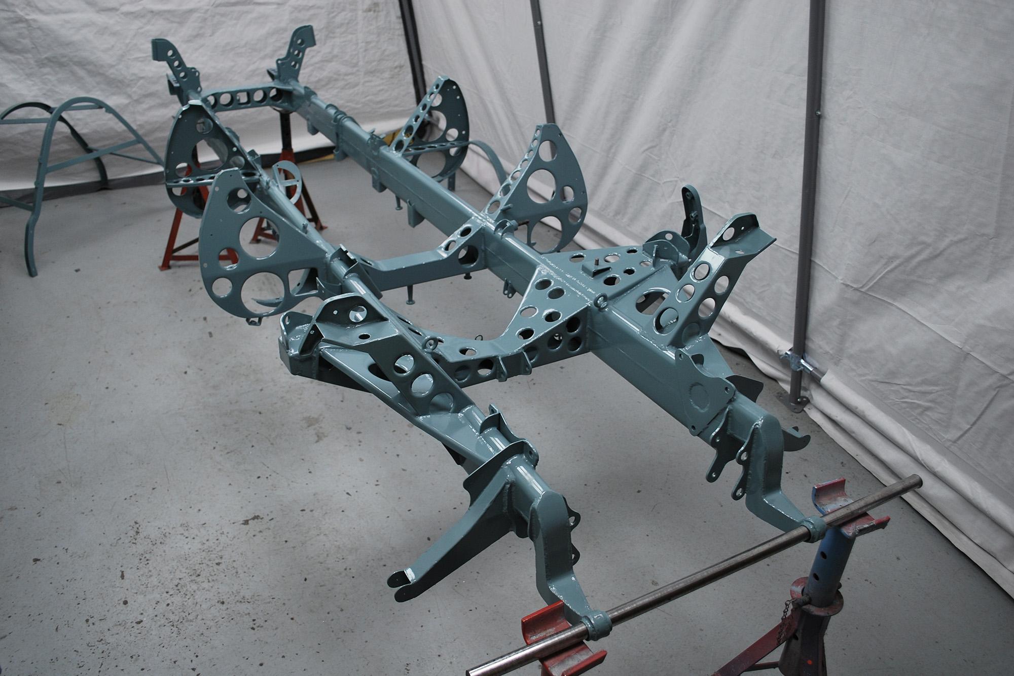 Alfa 150 chassis bracketry