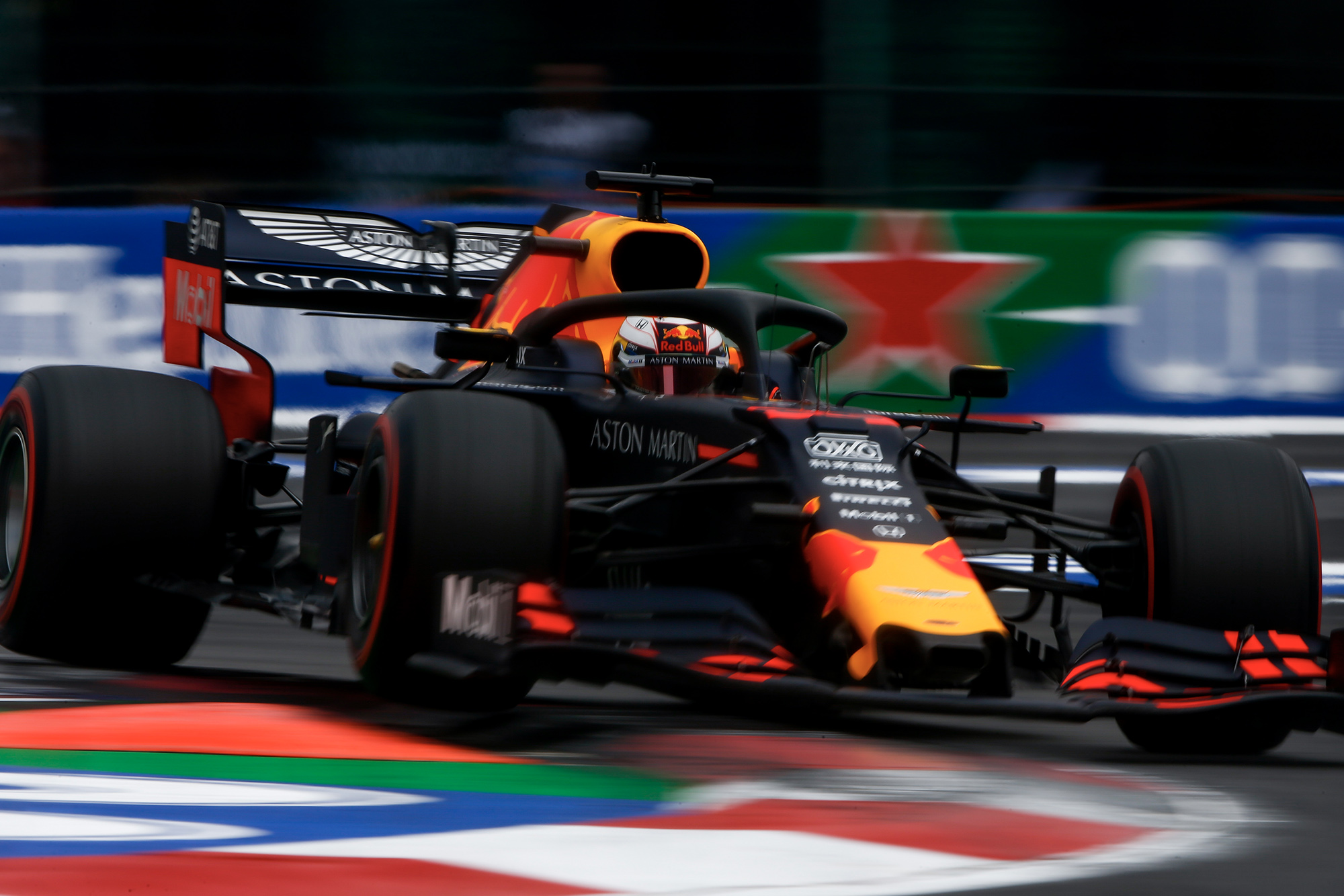 Max Verstappen during qualifying for the 2019 Mexican Grand Prix
