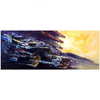 Product image for Ford GT40 MkII - Le Mans - 1966 | Andrew Hill | Limited Edition print