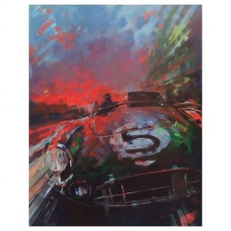 Product image for Aston Martin DBR1/300 - Le Mans - 1959   Andrew Hill   Limited Edition print