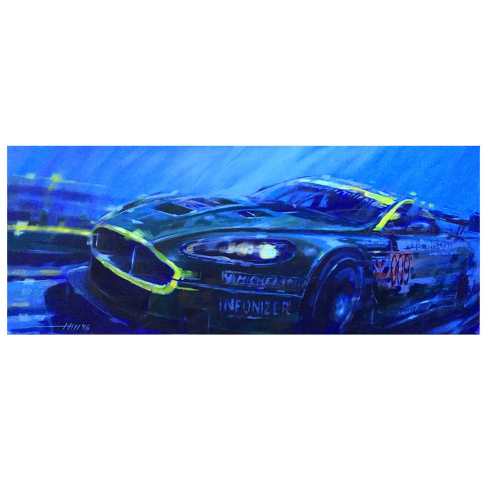 Product image for Aston Martin DBR9 - Le Mans - 2007 | Andrew Hill | Limited Edition print