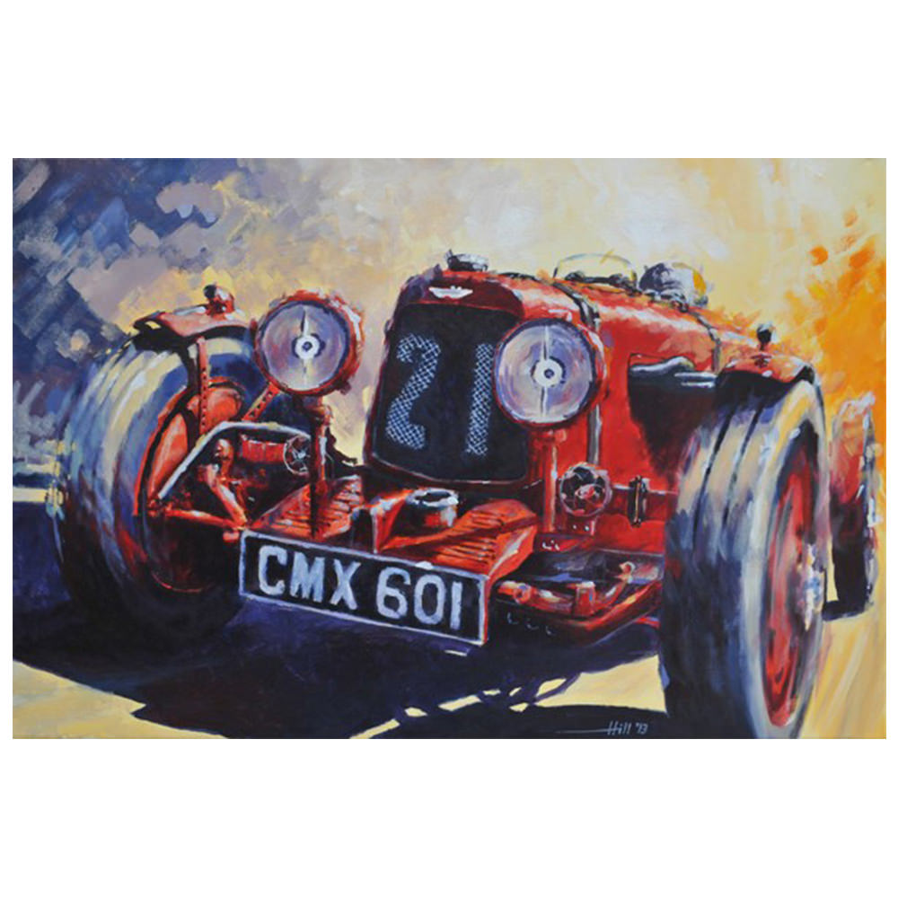 Product image for Aston Martin - Ulster 'LM21' - 1935 TT | Andrew Hill | Limited Edition print
