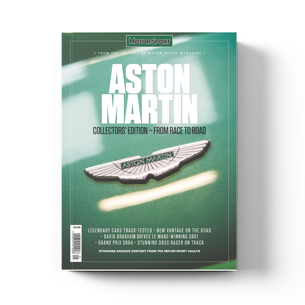 Product image for Aston Martin: From Race to Road | Motor Sport Magazine | Collector's Edition Bookazine