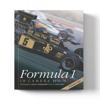 Product image for Formula 1 in Camera: 1970 - 79 - Volume 1 | Rainer Schlegelmilch - Paul Parker | Book | Hardback