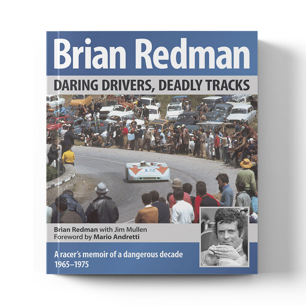 Product image for Daring Drivers, Deadly Tracks | Brian Redman with Jim Mullen| Book | Hardback | signed Brian Redman