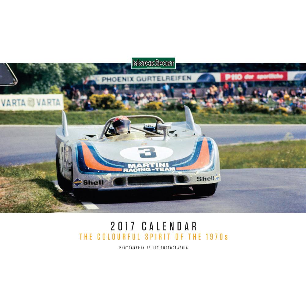 Product image for Motor Sport Calendar 2017