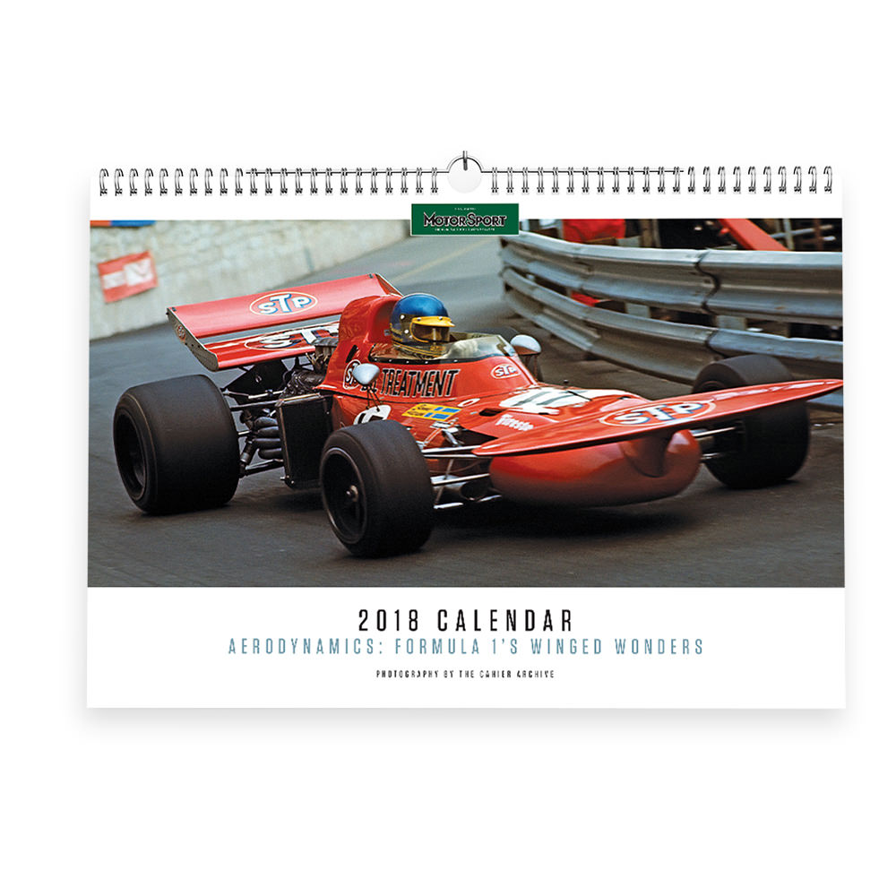 Product image for Motor Sport Calendar 2018
