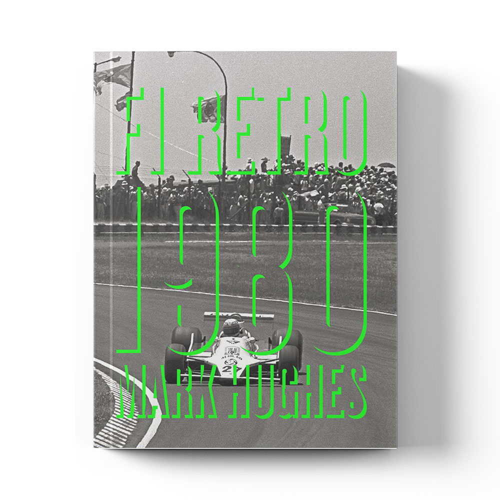 Product image for F1 Retro: 1980 | Mark Hughes | Book | Hardback