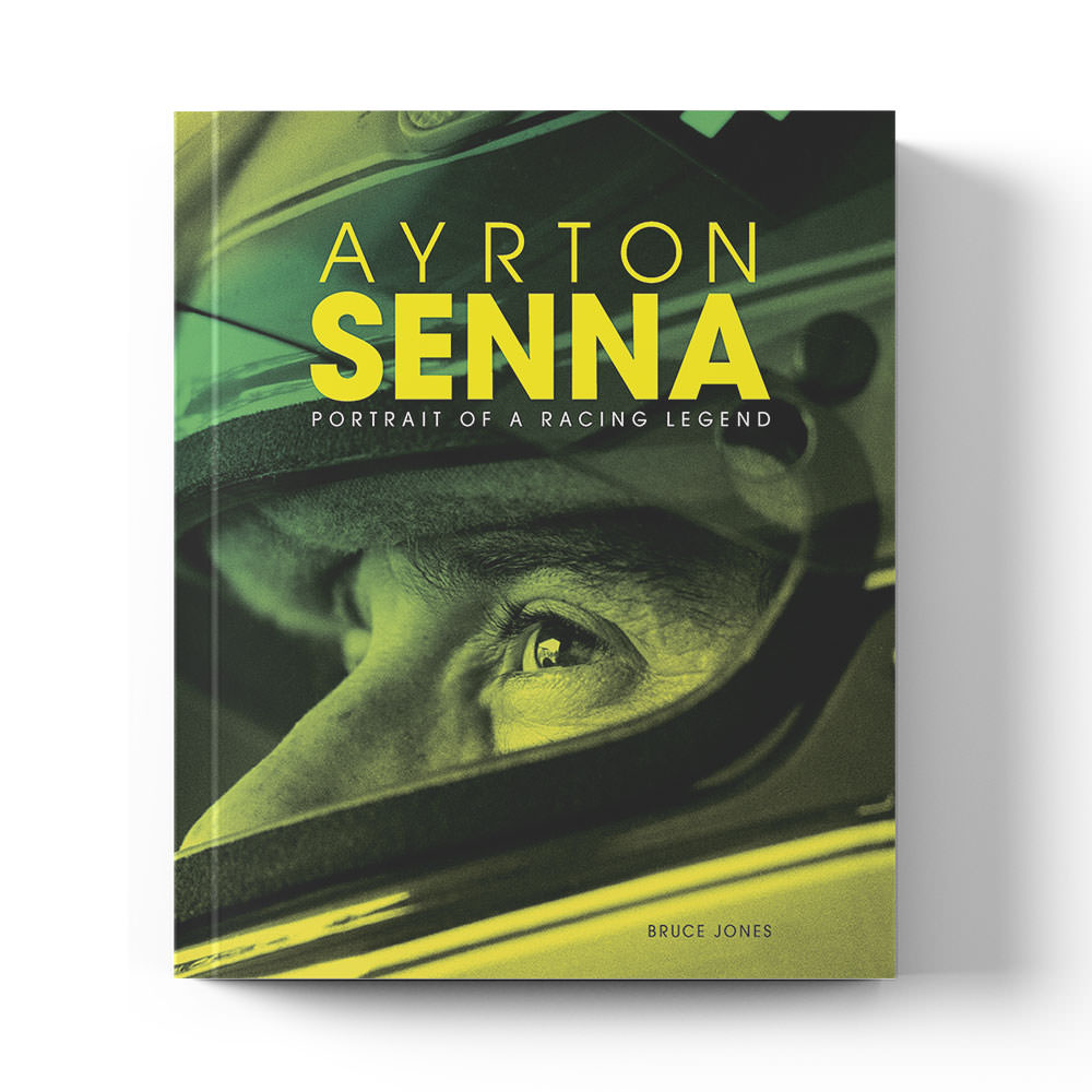 Product image for Ayrton Senna: Portrait of a Racing Legend by Bruce Jones