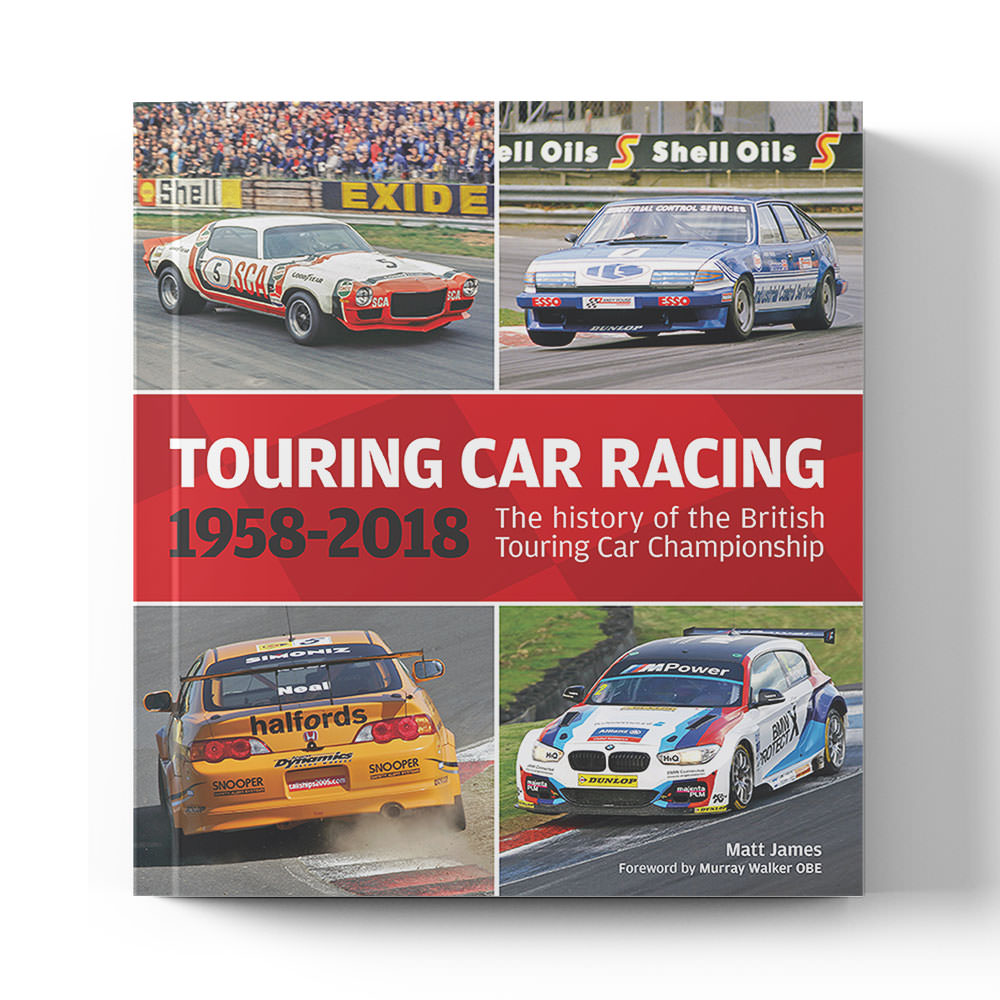 Product image for Touring Car Racing: The history of the British Touring Car Championship 1958-2018 | Matt James | Book | Hardback