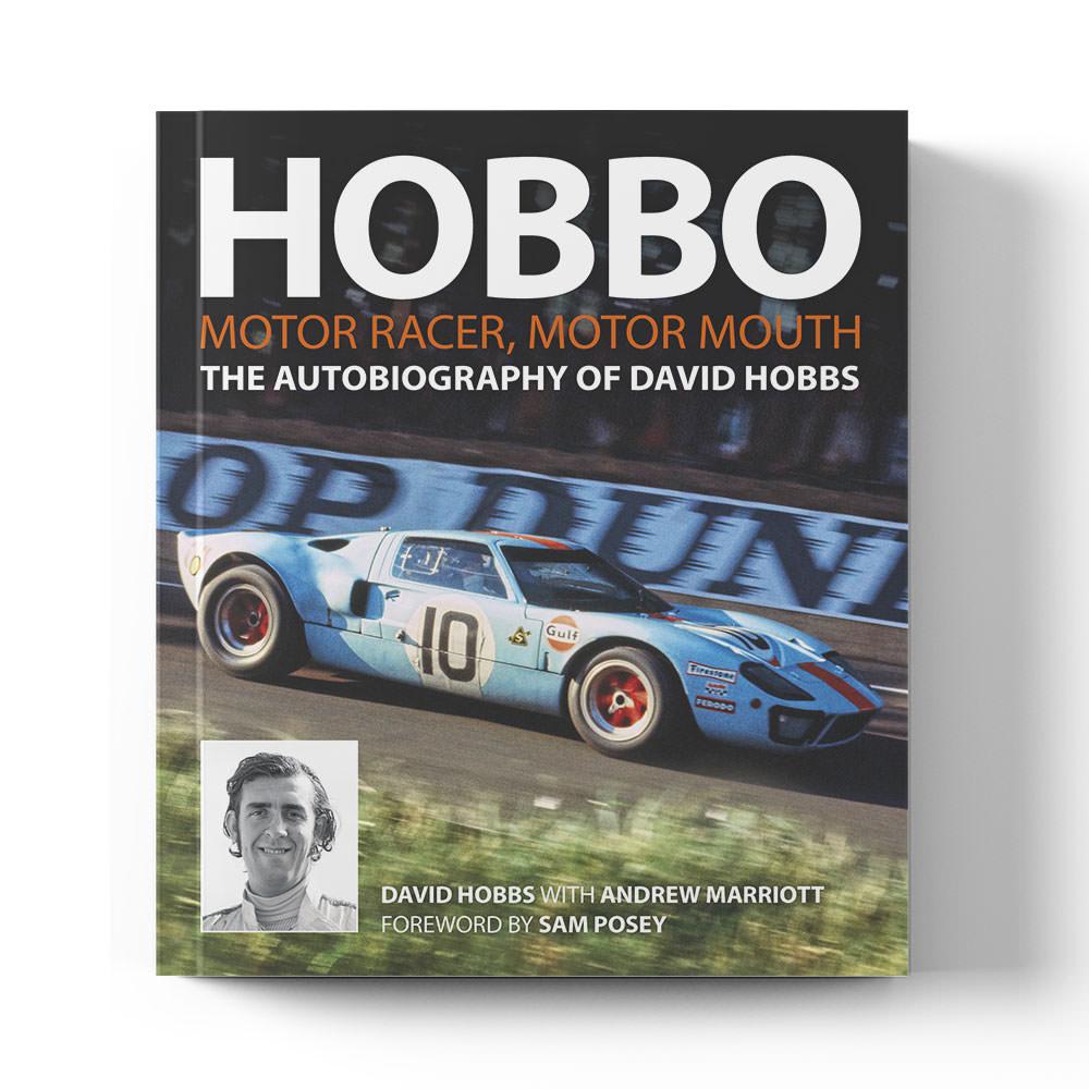 Product image for Hobbo: Motor Racer   David Hobbs   Book   Hardback