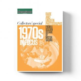 Product image for 1970s in Focus | Motor Sport Magazine | Collector's Edition Bookazine