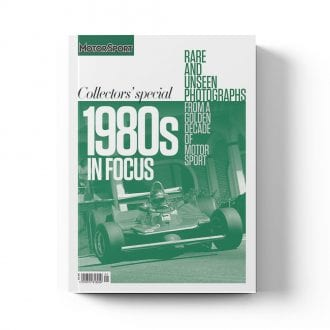 Product image for 1980s in Focus | Motor Sport Magazine | Collector's Edition Bookazine