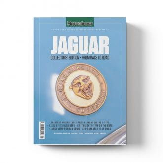 Product image for Jaguar: From Race to Road | Motor Sport Magazine | Collector's Edition Bookazine