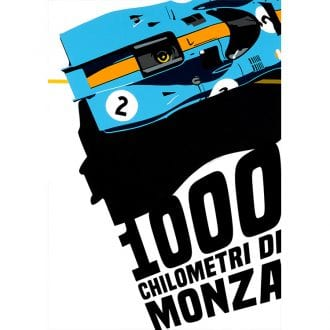 Product image for Porsche 917K – Monza 1000km – 1971   Joel Clark   contemporary poster