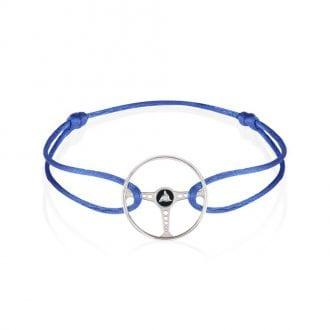Product image for Steering Wheel - Revival   Cobalt Blue Cord   Bracelet