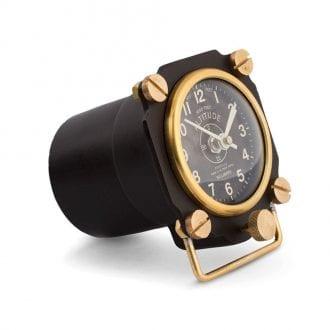 Product image for Altimeter   Desk Clock Black